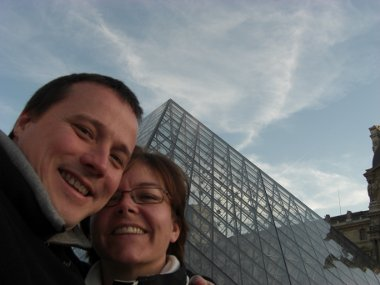 Steve and Mel in Paris