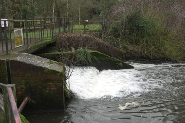 The Dam at the New Mill