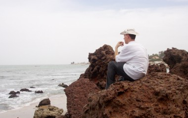 Me on the Coast near Bakau