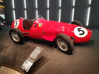 First British GP Winning Ferrari