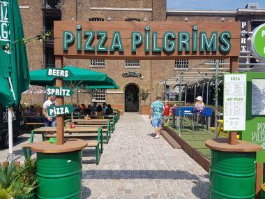Review Of Pizza Pilgrims Ginos East Takeover Stevedricenet