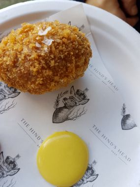 The Hind's Head - The Hind's Head Scotch Egg