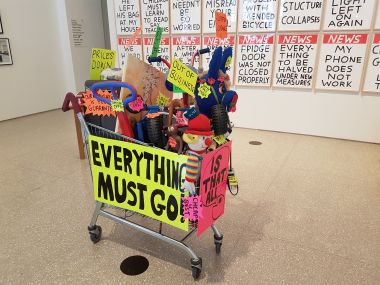 "The MacAulay Gallery - Burlington Gardens - ""Everything Must Go"""