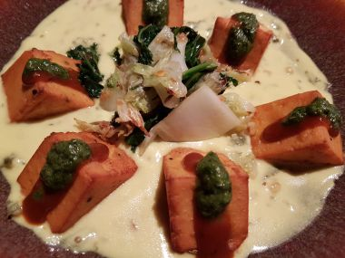 Paneer with Yogurt