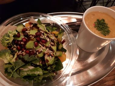 Bisque and Superfood Salad