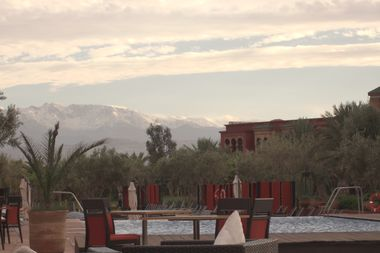 Atlas Mountains from the Hotel