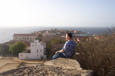 Looking Out Over Goree