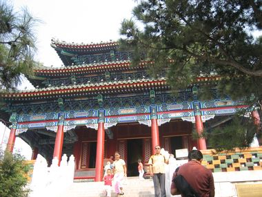 Shrine at Jingshan