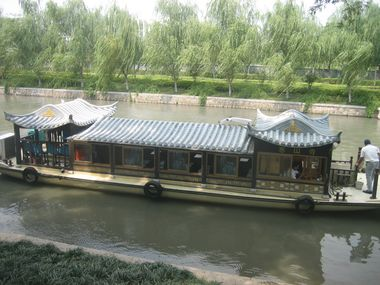 Canal River Cruise Boat