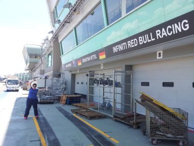 The F1 Garages