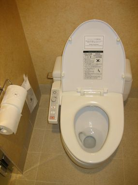 Always a picture of an automated toilet...