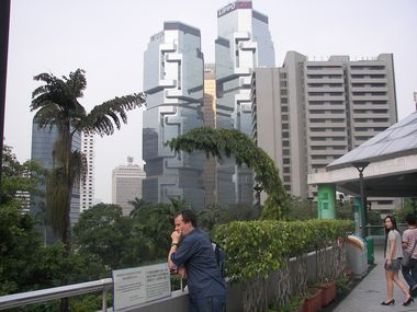 View in Hong Kong Park (SW)