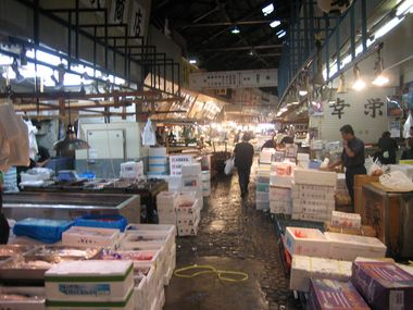 Stalls in the Fish Market
