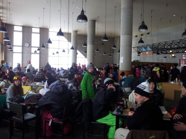 Restaurant Ski Arc - Inside
