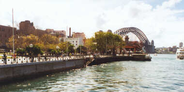 Circular Quay and the Sydney Harbour Bridge