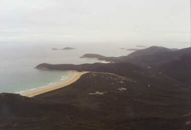 View of Tidal River (the only town of any size) from Mount Oberon