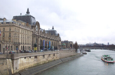 Musee d'Orsay from Pont Neuf