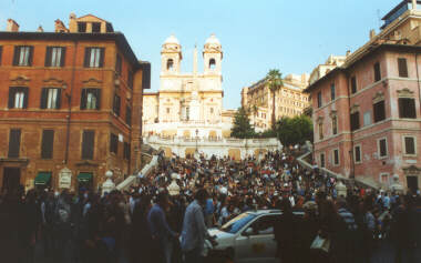 The Spanish Steps (Piazza Di Spagna)