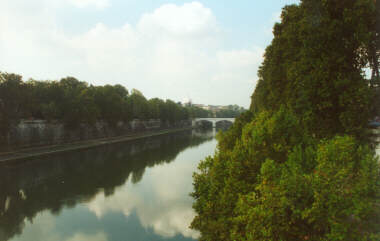 The Tiber (St. Peter's in the Distance)