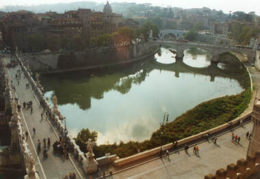 The Tiber from Sant'Angelo