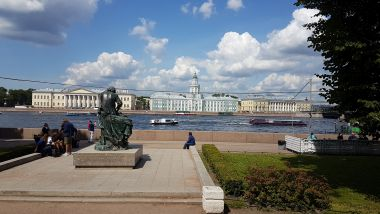 River Neva and Buildings