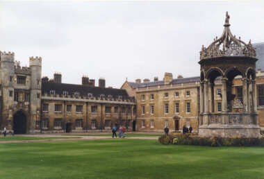 Front Court of King's College