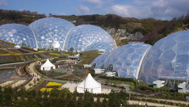 The Two Biomes of The Eden Project