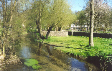The Rye River in Bakewell