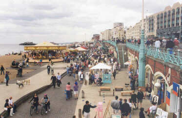 Brighton - A Busy Summer Weekend