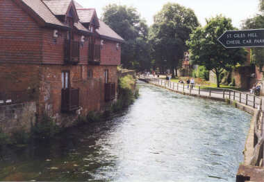 Winchester - The (Itchen) River Walk