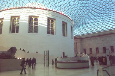 "New ""Grand Hall"" of the British Museum"