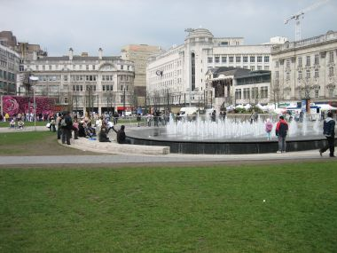 Piccadilly Gardens - Major Transportation Hub