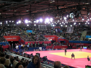 Judo in Excel - Two mats with simultaneous matches