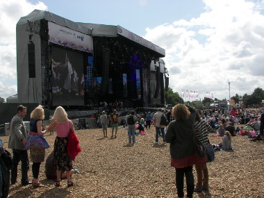 The Live Stage at Hyde Park