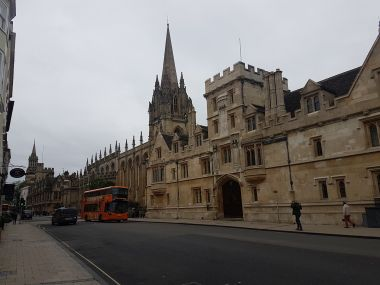 High Street - All Souls College and University Church of St Mary the Virgin