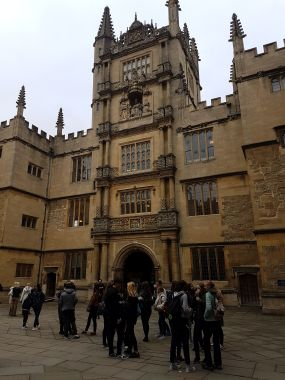 Bodleian Library - Main Entrance