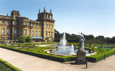 Blenheim Palace - The Gardens