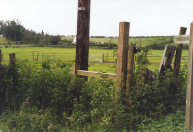 Public Footpath Near Send