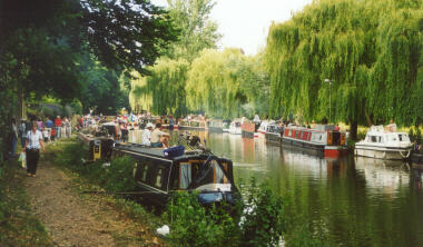 Boats Along the Wey