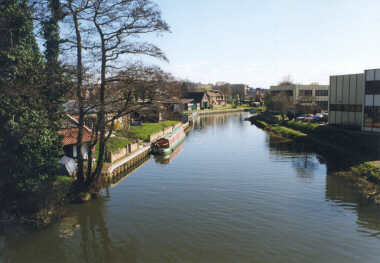 Guildford - Near Dapdune Wharf (operated by The National Trust)