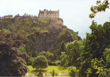Edinburgh Castle - In the Middle of the City!