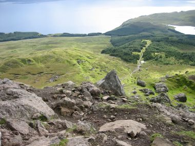View from the Top of Old Man of Storr
