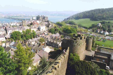 Conwy Castle and City