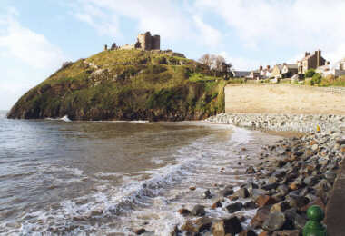 Criccieth Castle, Northern Wales