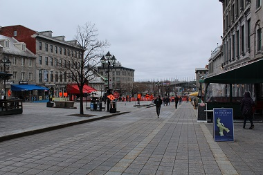 Place Jacques-Cartier (leading to docks)