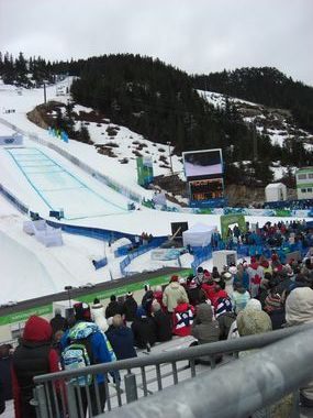 The Ski Cross Course