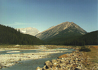The Rockies (from the Trans-Canada Highway)